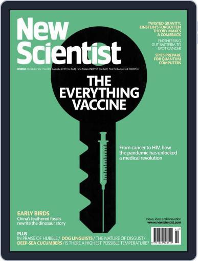 New Scientist Australian Edition Magazine (Digital) October 16th, 2021 Issue Cover
