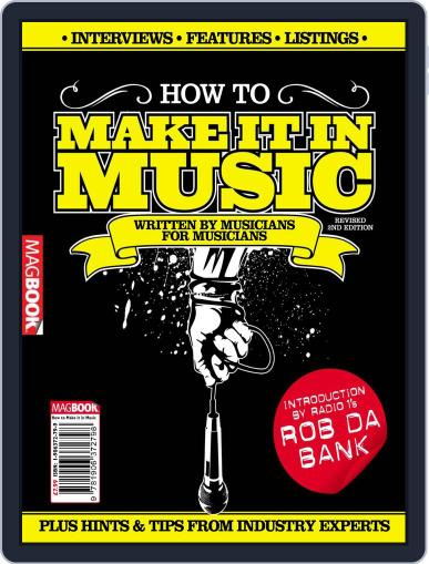 How to Make it in Music 2 January 25th, 2011 Digital Back Issue Cover