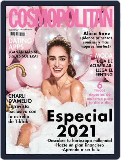 Cosmopolitan España Magazine (Digital) January 1st, 2021 Issue Cover