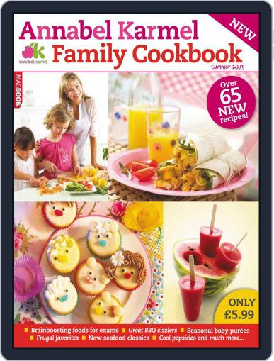 Annabel Karmel Family Summer Cookbook April 21st, 2010 Digital Back Issue Cover