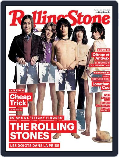 Rolling Stone France Magazine (Digital) April 1st, 2021 Issue Cover