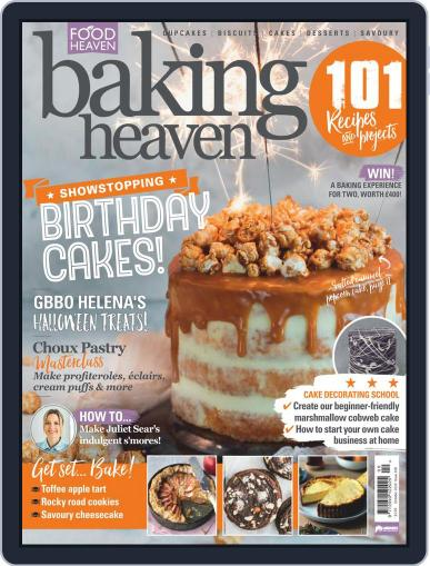 Baking Heaven Magazine (Digital) October 1st, 2020 Issue Cover