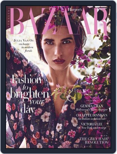 Harper's Bazaar Australia June 1st, 2020 Digital Back Issue Cover