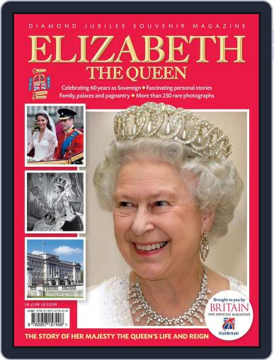Elizabeth The Queen: Diamond Jubilee Souvenir March 23rd, 2012 Digital Back Issue Cover