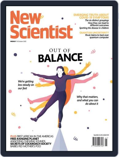 New Scientist International Edition Magazine (Digital) October 10th, 2020 Issue Cover
