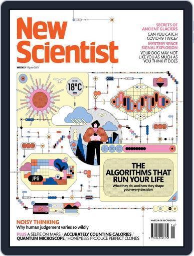 New Scientist International Edition Magazine (Digital) June 19th, 2021 Issue Cover