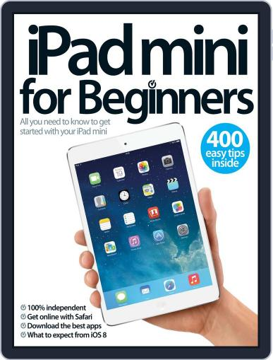 iPad mini For Beginners August 20th, 2014 Digital Back Issue Cover