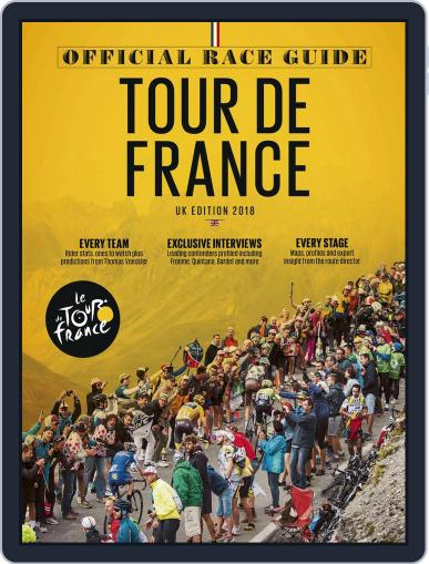 Official Tour de France Guide Magazine (Digital) May 25th, 2018 Issue Cover