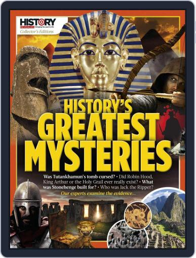 History's Greatest Mysteries United Kingdom Magazine (Digital) August 8th, 2017 Issue Cover