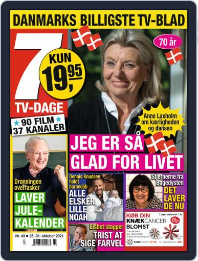 7 TV-Dage Magazine (Digital) October 25th, 2021 Issue Cover