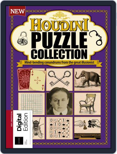 Houdini Puzzle Collection Magazine (Digital) April 10th, 2018 Issue Cover