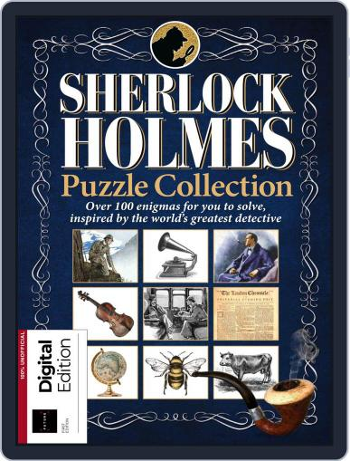 Sherlock Holmes Puzzle Collection May 8th, 2018 Digital Back Issue Cover