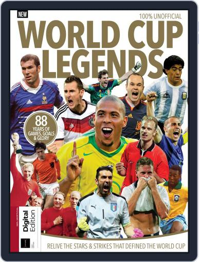 World Cup Legends Magazine (Digital) May 8th, 2018 Issue Cover