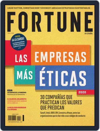 Fortune en español June 1st, 2020 Digital Back Issue Cover