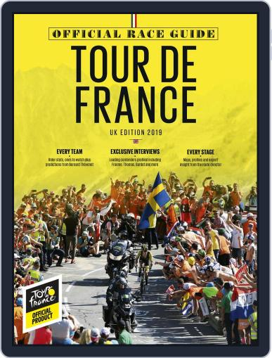 Official Tour de France Race Guide Premium Magazine (Digital) July 1st, 2019 Issue Cover