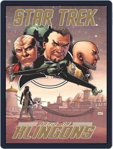Star Trek: Best of Klingons October 1st, 2013 Digital Back Issue Cover