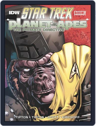 Star Trek / Planet of the Apes Magazine (Digital) September 1st, 2015 Issue Cover