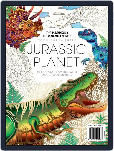 Colouring Book: Jurassic Planet June 6th, 2018 Digital Back Issue Cover