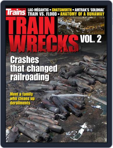 Train Wrecks, Vol. 2 June 5th, 2018 Digital Back Issue Cover