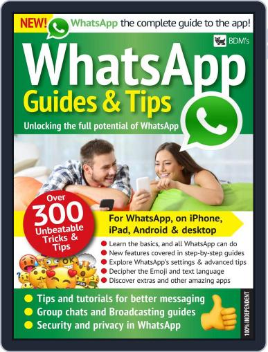 BDM's WhatsApp Guides & Tips Magazine (Digital) June 6th, 2018 Issue Cover