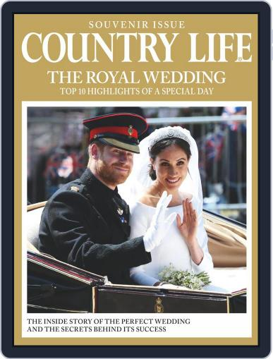 Country Life Royal Wedding Souvenir Issue Magazine (Digital) June 1st, 2018 Issue Cover