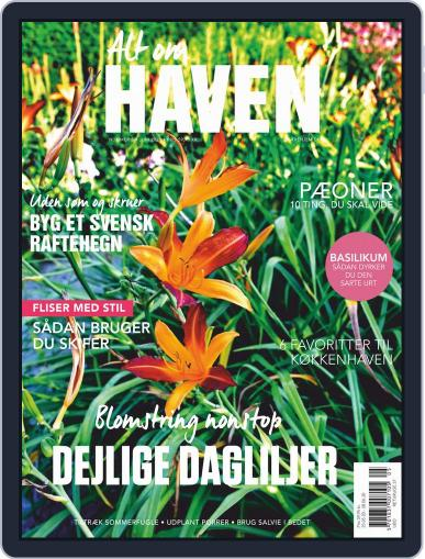 Alt om haven June 1st, 2020 Digital Back Issue Cover