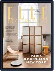 ELLE Decoration Denmark Magazine (Digital) Subscription April 1st, 2021 Issue