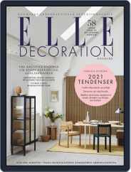 ELLE Decoration Denmark Magazine (Digital) Subscription January 1st, 2021 Issue