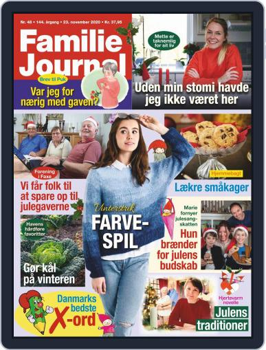 Familie Journal Magazine (Digital) November 23rd, 2020 Issue Cover