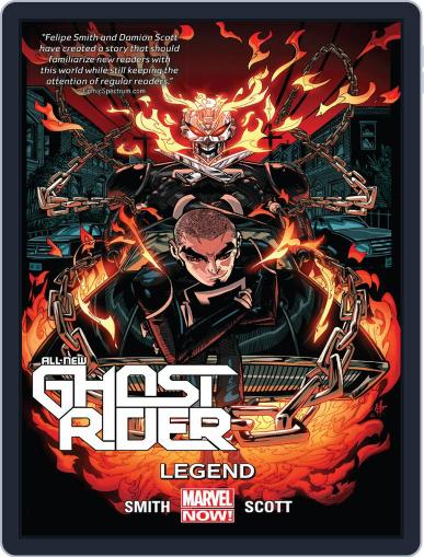 All-New Ghost Rider (2014-2015) (Digital) May 20th, 2015 Issue Cover