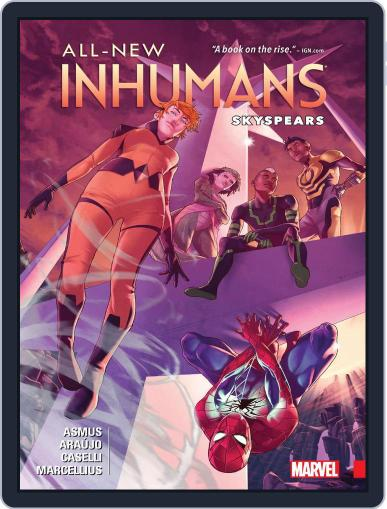 All-New Inhumans (2015-2016) October 19th, 2016 Digital Back Issue Cover