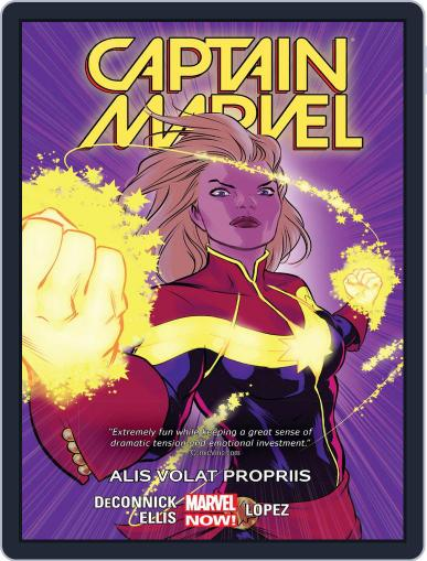 Captain Marvel (2014-2015) (Digital) August 19th, 2015 Issue Cover