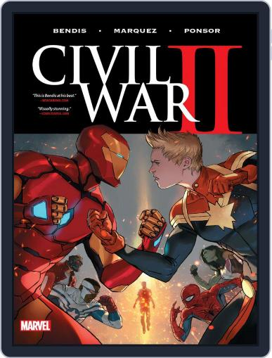 Civil War II (2016) (Digital) February 1st, 2017 Issue Cover