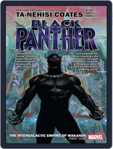 Black Panther (2016-2018) (Digital) January 23rd, 2019 Issue Cover
