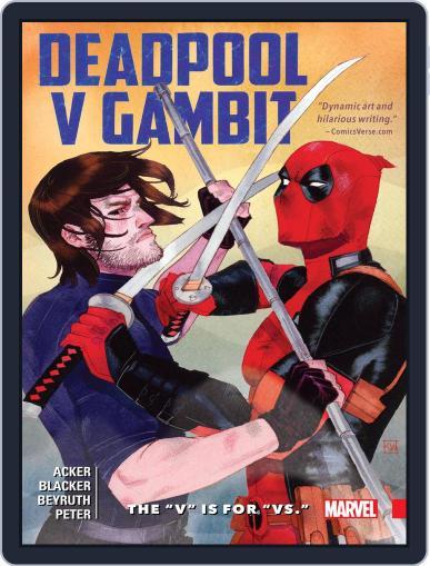 Deadpool v Gambit (2016) (Digital) November 9th, 2016 Issue Cover