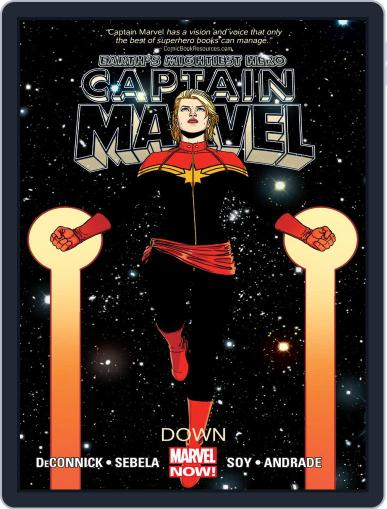 Captain Marvel (2012-2013) (Digital) January 30th, 2014 Issue Cover