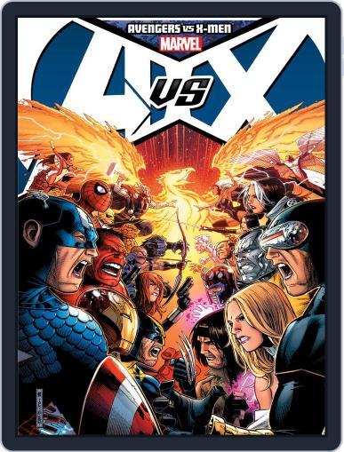Avengers vs. X-Men (Digital) November 7th, 2012 Issue Cover
