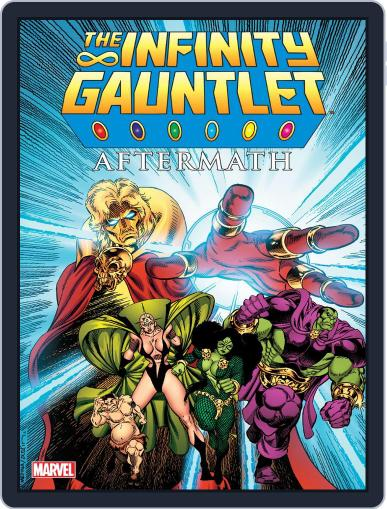 Infinity Gauntlet (Digital) February 13th, 2014 Issue Cover