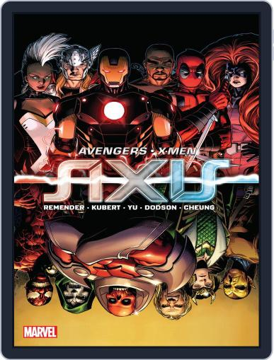 Avengers & X-Men: Axis (Digital) February 25th, 2015 Issue Cover