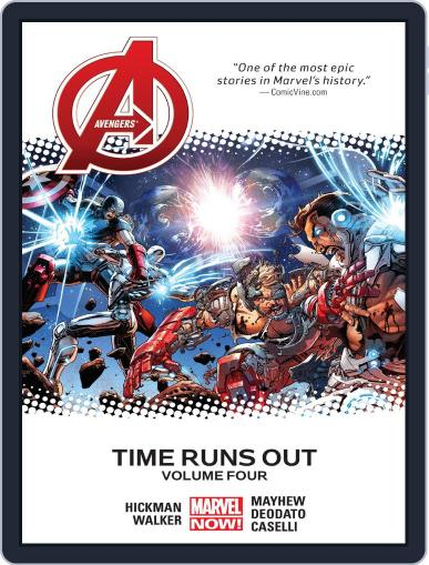 Avengers: Time Runs Out June 17th, 2015 Digital Back Issue Cover