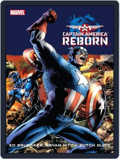 Captain America: Reborn August 2nd, 2012 Digital Back Issue Cover