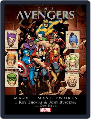 Avengers (1963-1996) September 4th, 2014 Digital Back Issue Cover