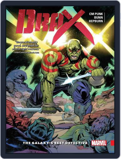 Drax (2015-2016) May 25th, 2016 Digital Back Issue Cover
