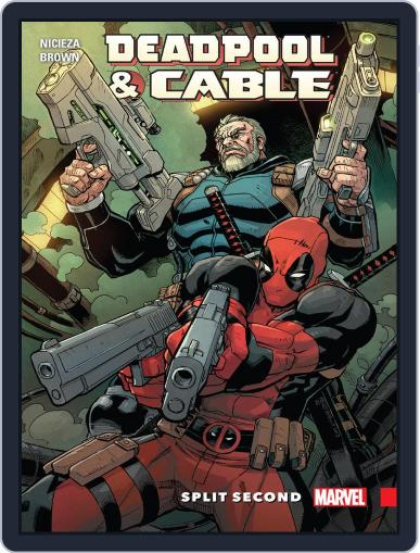 Deadpool & Cable: Split Second Infinite Comic April 20th, 2016 Digital Back Issue Cover