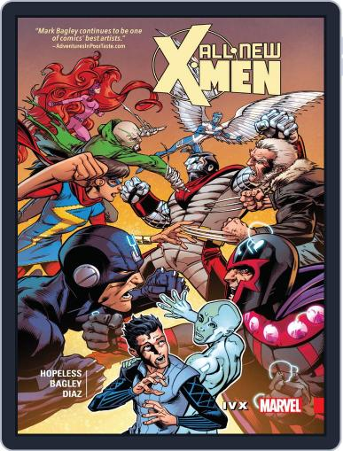 All-New X-Men (2015-2017) (Digital) August 23rd, 2017 Issue Cover