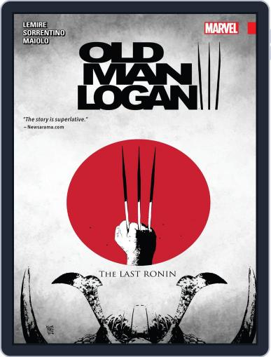 Old Man Logan (2016-) January 18th, 2017 Digital Back Issue Cover
