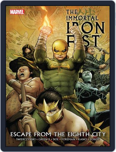Immortal Iron Fist (2006-2009) November 21st, 2013 Digital Back Issue Cover