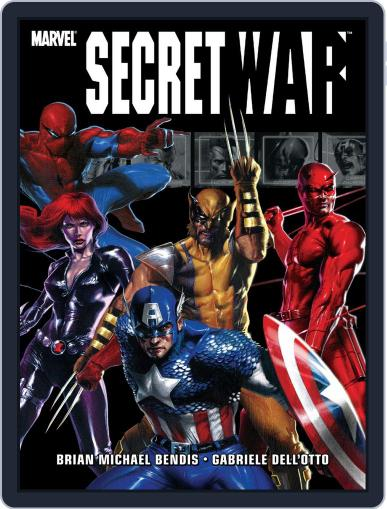 Secret War (2004-2005) (Digital) November 17th, 2011 Issue Cover