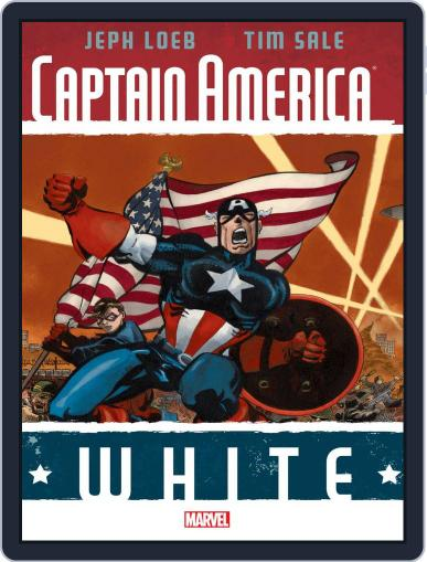 Captain America: White (Digital) February 17th, 2016 Issue Cover