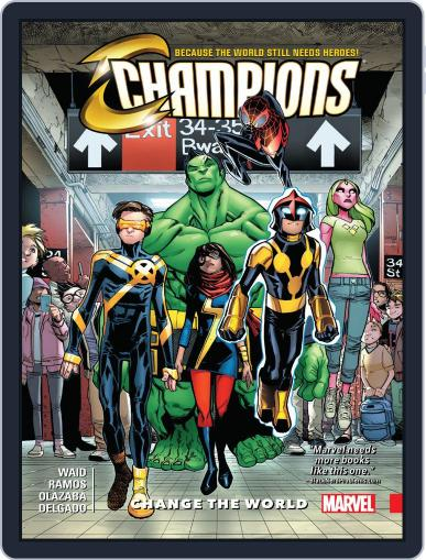 Champions (2016-) May 3rd, 2017 Digital Back Issue Cover